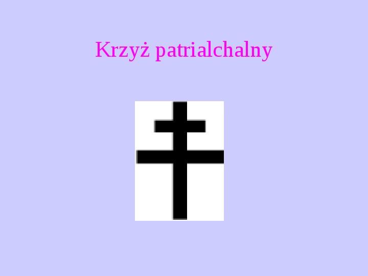 Krzyże i monogramy - Slajd 21