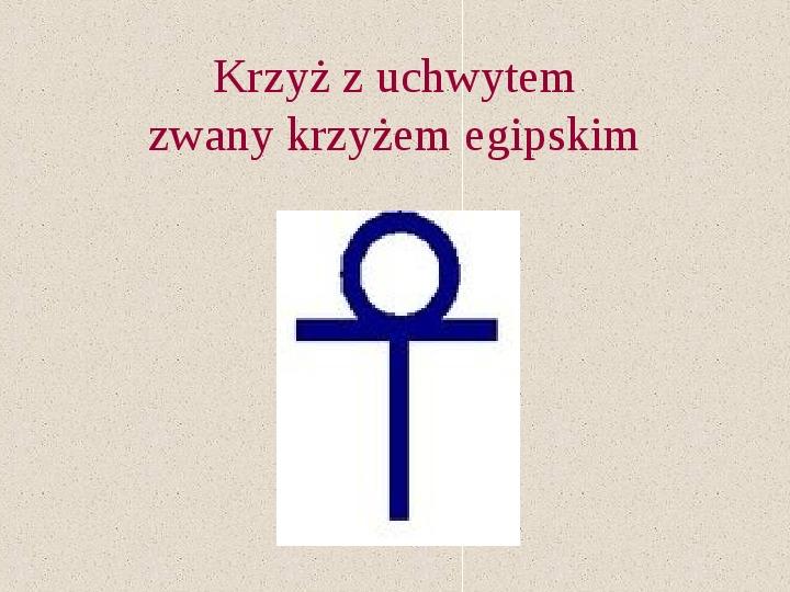 Krzyże i monogramy - Slajd 25