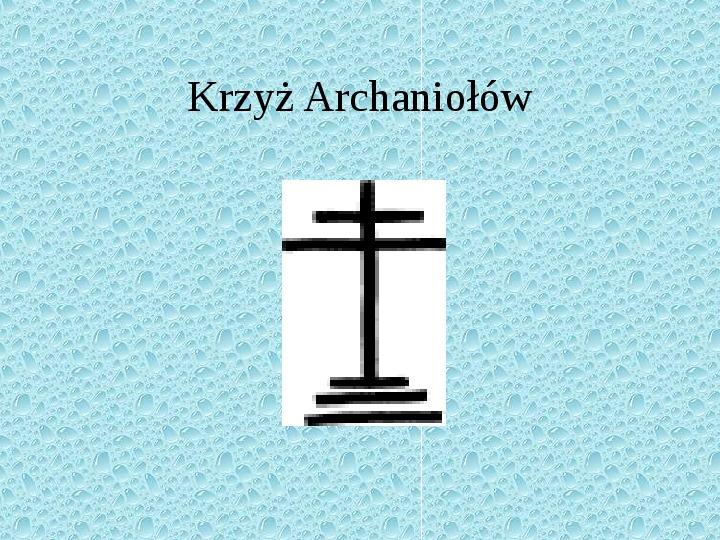 Krzyże i monogramy - Slajd 27