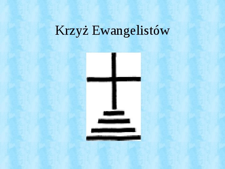 Krzyże i monogramy - Slajd 29