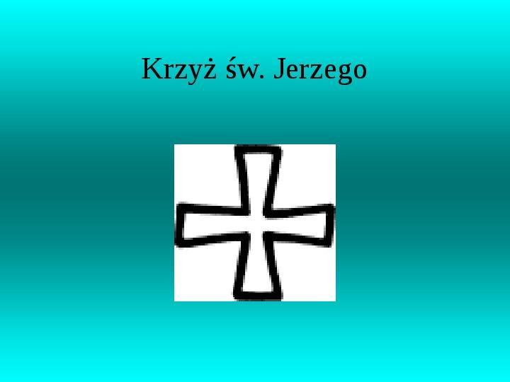 Krzyże i monogramy - Slajd 37