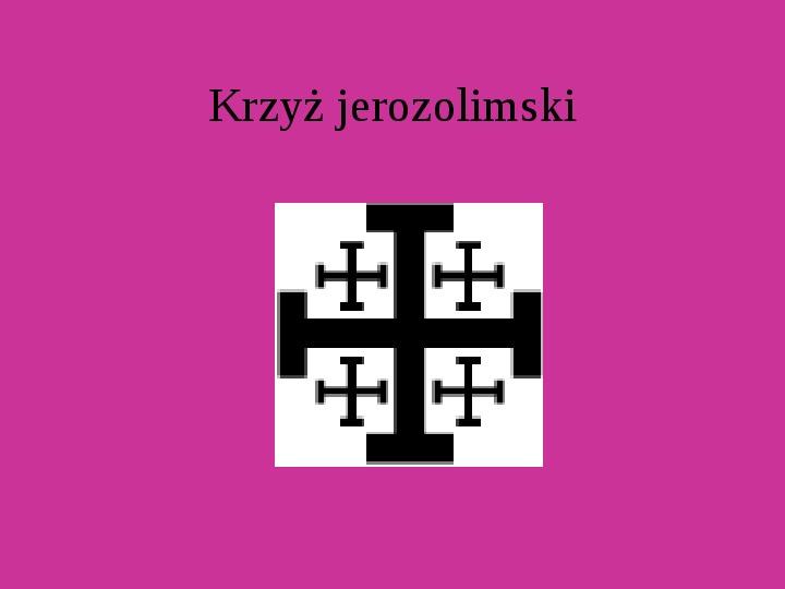 Krzyże i monogramy - Slajd 49