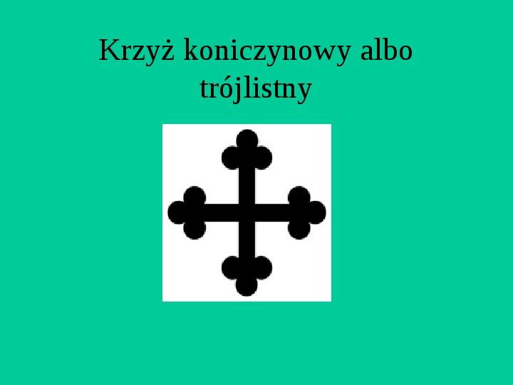Krzyże i monogramy - Slajd 55
