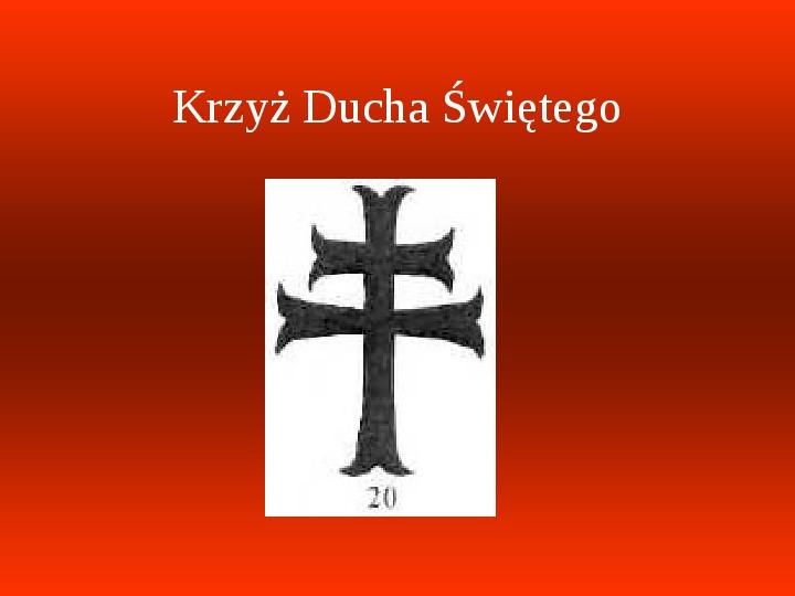 Krzyże i monogramy - Slajd 59