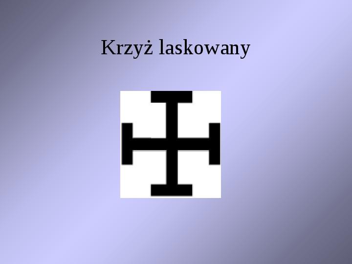 Krzyże i monogramy - Slajd 65