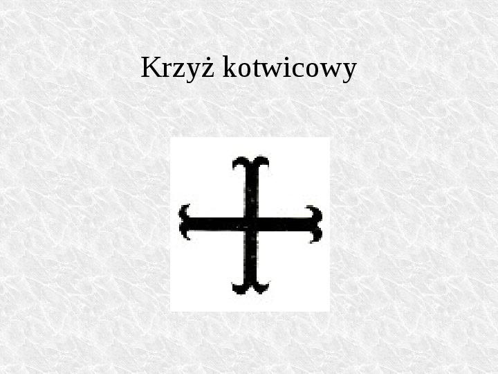 Krzyże i monogramy - Slajd 73