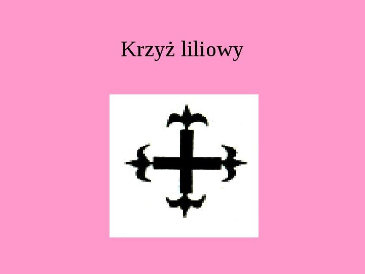 Krzyże i monogramy - Slajd 75