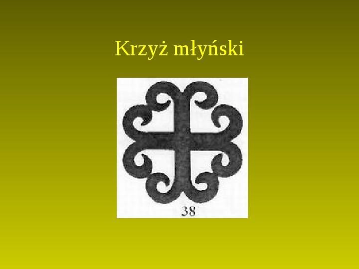 Krzyże i monogramy - Slajd 77
