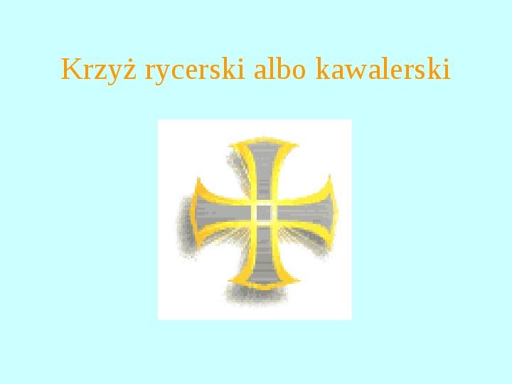 Krzyże i monogramy - Slajd 79