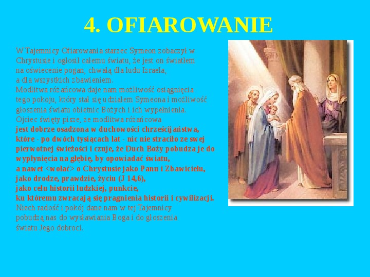Jan Paweł II – rozważania różańcowe - Slajd 5
