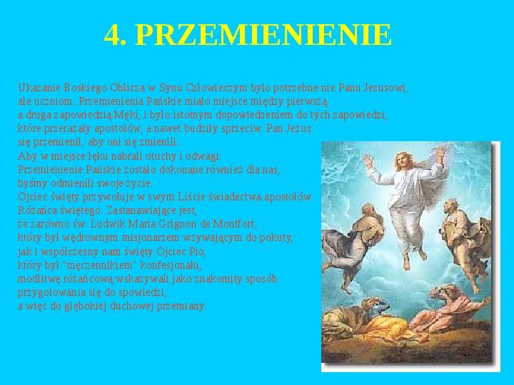 Jan Paweł II – rozważania różańcowe - Slajd 11