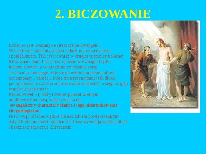 Jan Paweł II – rozważania różańcowe - Slajd 15