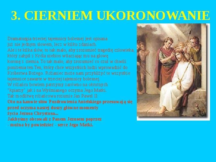 Jan Paweł II – rozważania różańcowe - Slajd 16