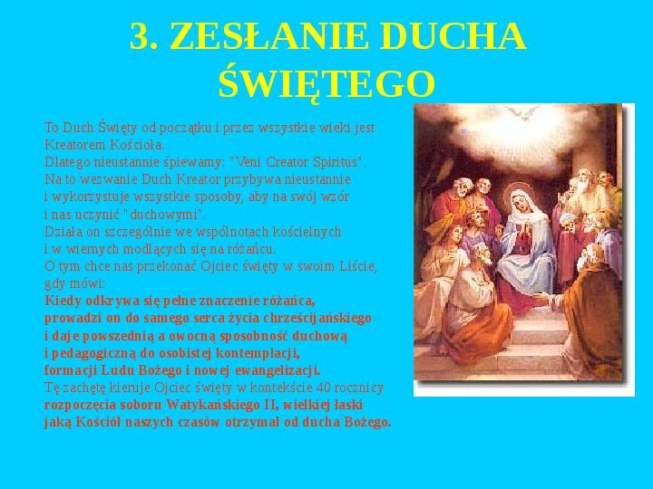 Jan Paweł II – rozważania różańcowe - Slajd 22
