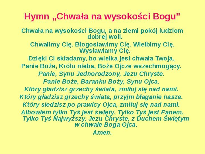 Struktura Eucharystii - Slajd 8