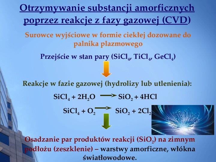 Składy chemiczne szkieł przemysłowych - Slajd 14