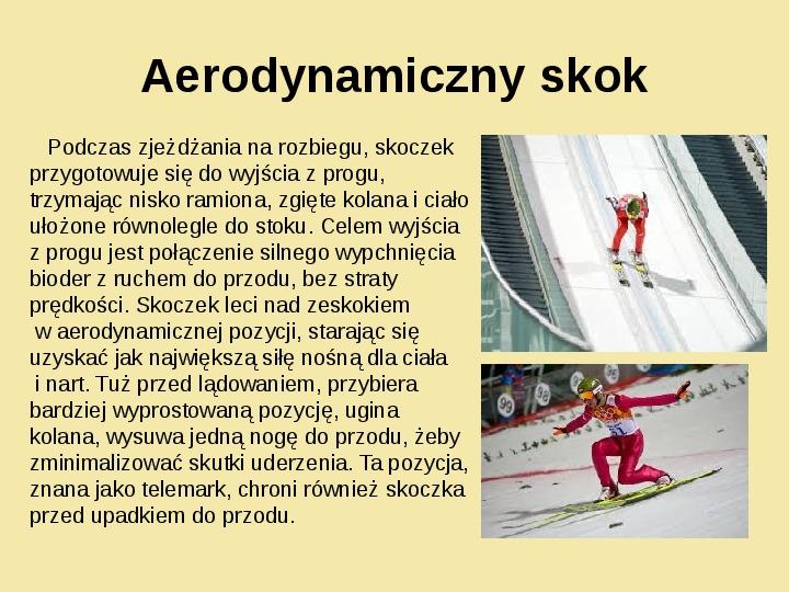 Fizyka a sport - Slajd 4