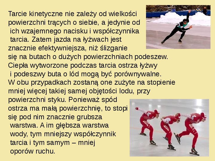 Fizyka a sport - Slajd 9
