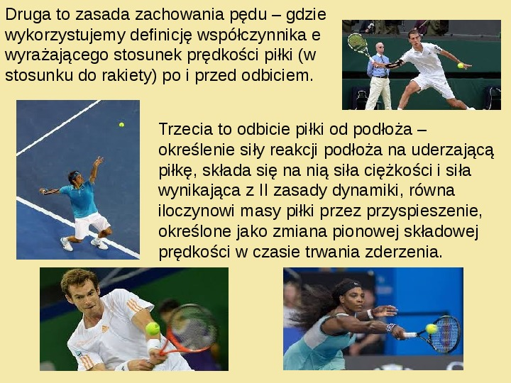 Fizyka a sport - Slajd 13