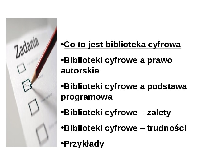 Biblioteka cyfrowa - Slajd 5