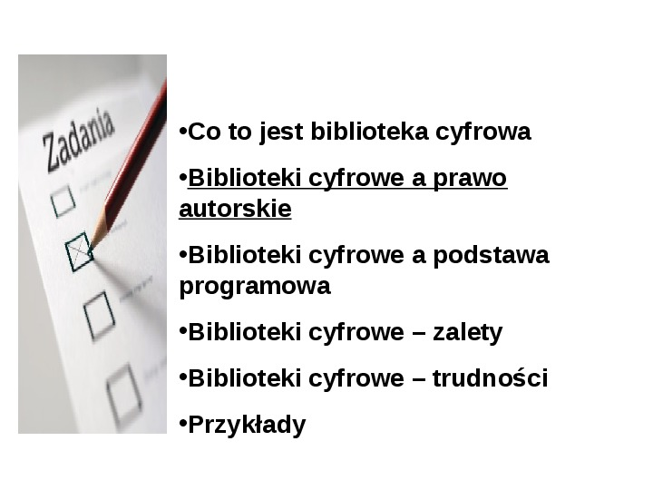 Biblioteka cyfrowa - Slajd 9