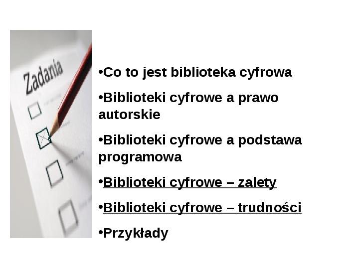 Biblioteka cyfrowa - Slajd 15