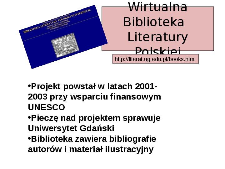 Biblioteka cyfrowa - Slajd 26