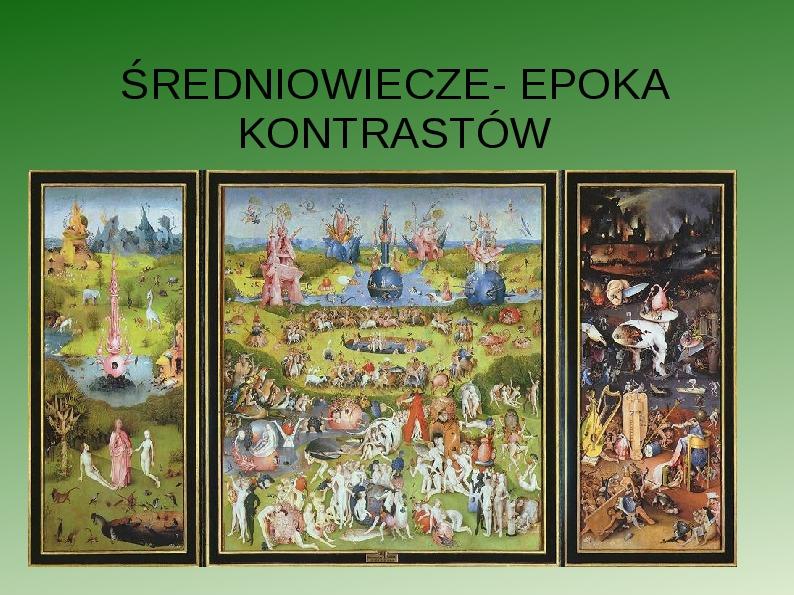 Powtórka ze średniowiecza - Slajd 1