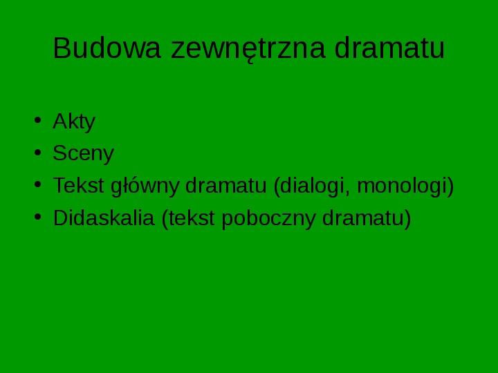 ZEMSTA Aleksander Fredro - Slajd 2