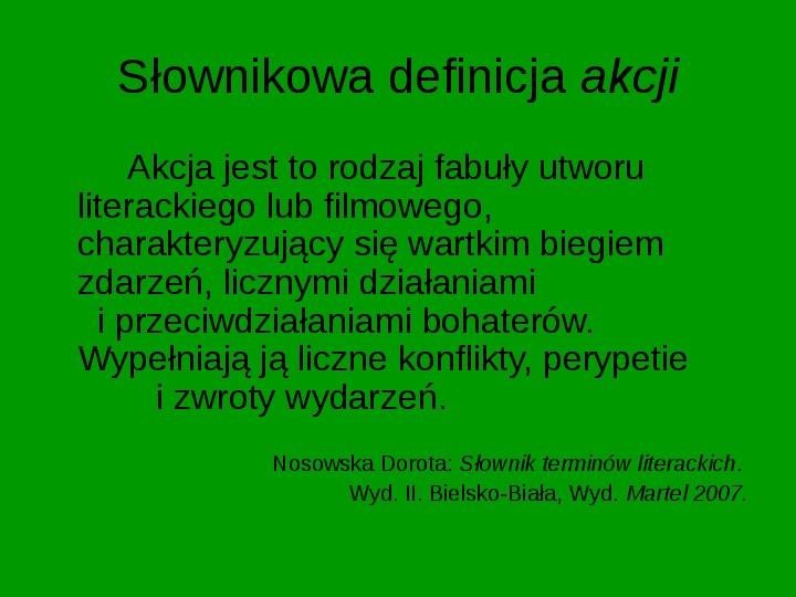 ZEMSTA Aleksander Fredro - Slajd 4