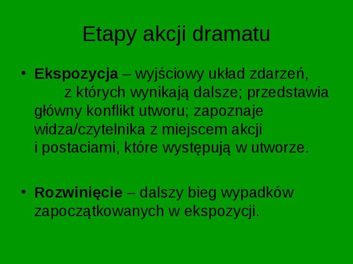 ZEMSTA Aleksander Fredro - Slajd 9