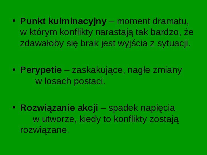 ZEMSTA Aleksander Fredro - Slajd 10