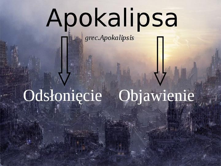 Apokalipsa - Slajd 1