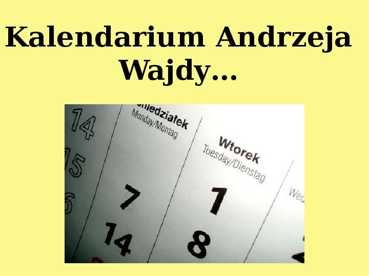 Andrzej Wajda - Slajd 2