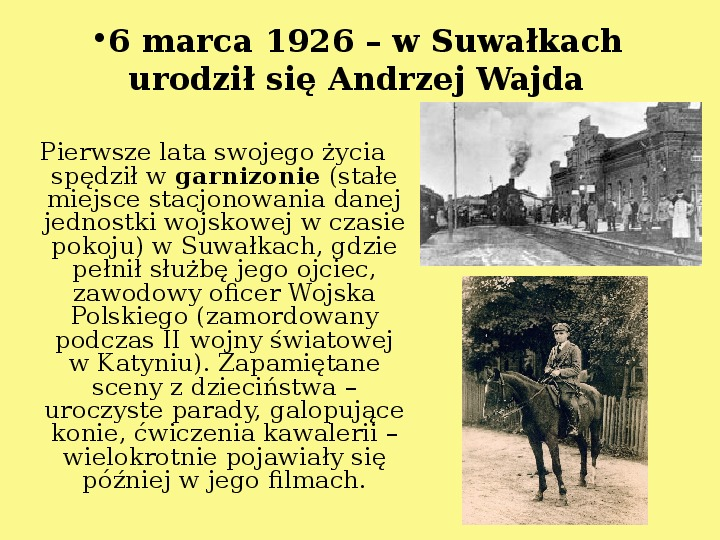 Andrzej Wajda - Slajd 3