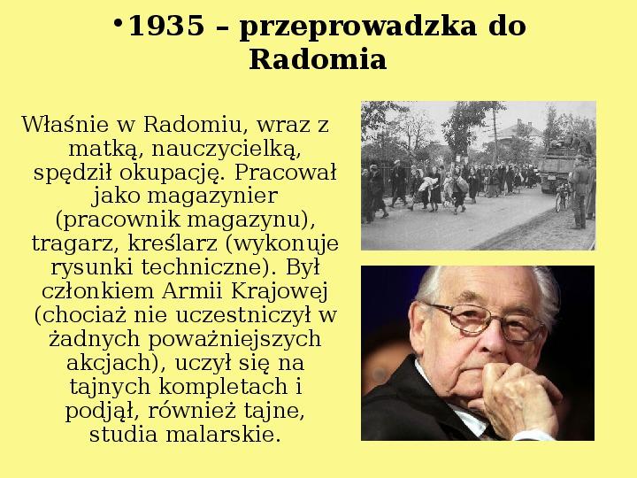 Andrzej Wajda - Slajd 4