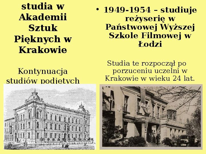 Andrzej Wajda - Slajd 5