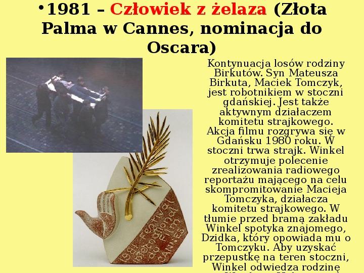 Andrzej Wajda - Slajd 14