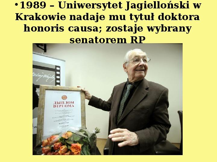 Andrzej Wajda - Slajd 16