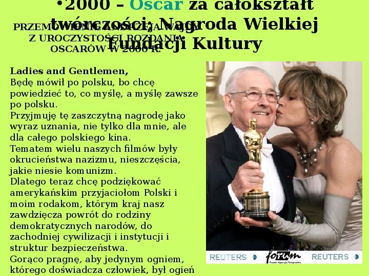 Andrzej Wajda - Slajd 20