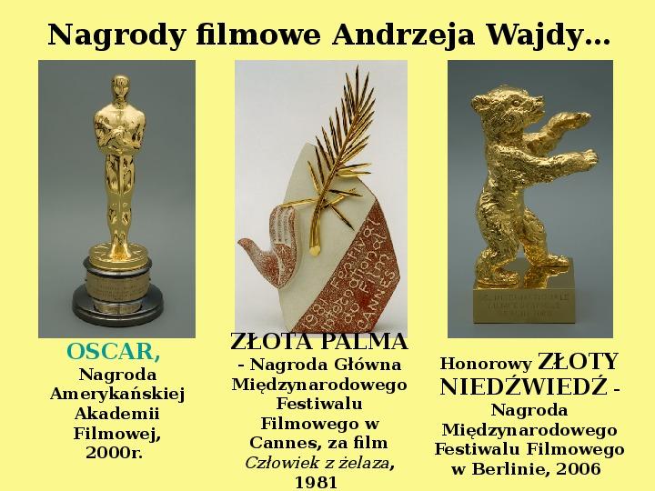 Andrzej Wajda - Slajd 23