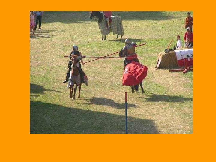Rozrywka w średniowieczu - Slajd 9