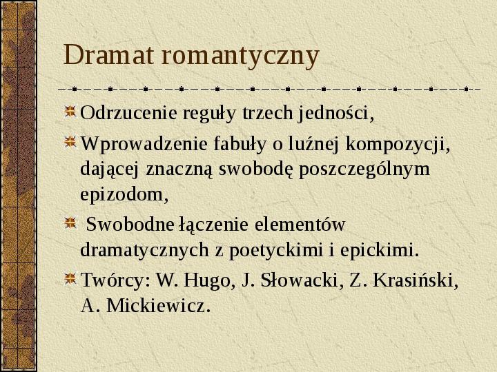 Dramat i jego gatunki - Slajd 23