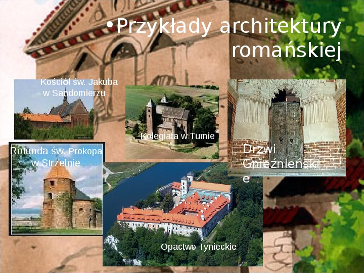 Średniowiecze: Architektura i malarstwo - Slajd 3