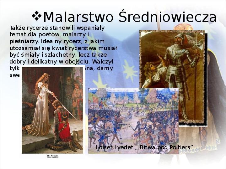 Średniowiecze: Architektura i malarstwo - Slajd 9