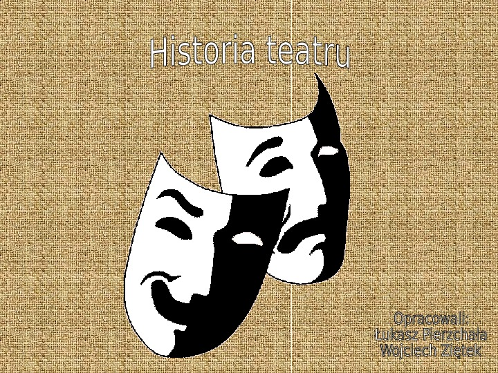 Historia teatru - Slajd 1