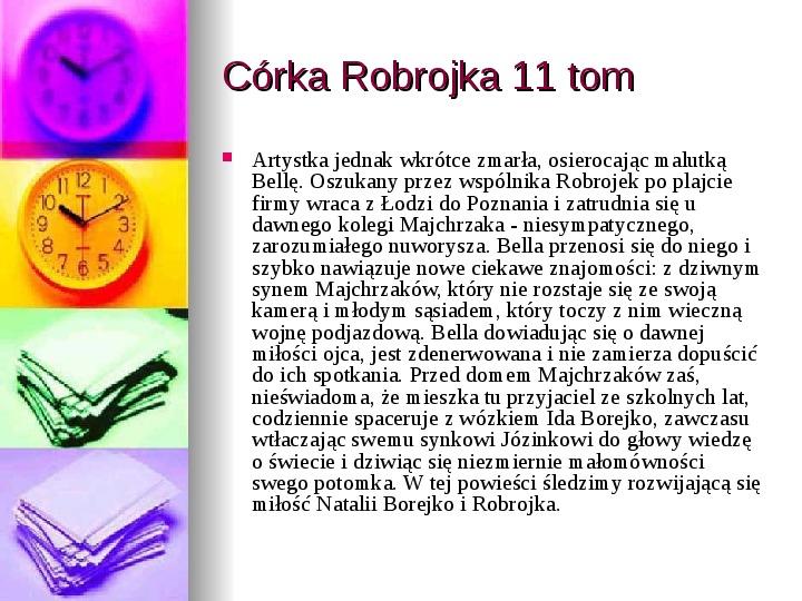 Małgorzata Musierowicz - Slajd 31