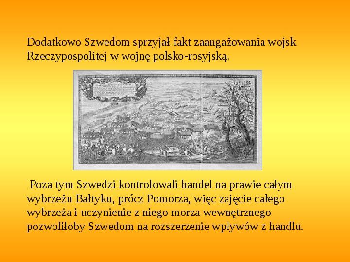 Potop szwedzki - Slajd 4