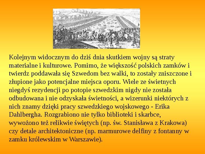 Potop szwedzki - Slajd 21