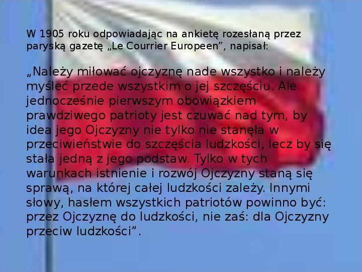 Henryk Sienkiewicz - Slajd 16